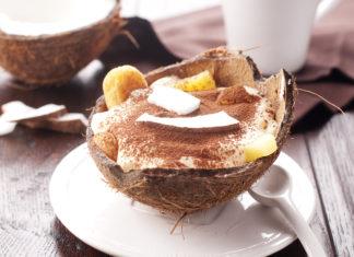 Kokosovo-ananásové tiramisu